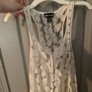 Lace Flower Blouse from Wet Seal Never Worn